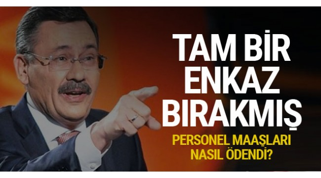 Ankara Büyükşehir Belediye Başkanı Mustafa Tuna, Melih Gökçek'ten adeta enkaz devraldı.