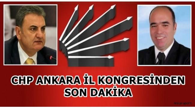 CHP ANKARA İL KONGRESİNDEN SON DAKİKA....