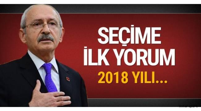 Kemal Kılıçdaroğlu 'hazırız, kazanacağız' açıklamasını yaptı.