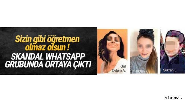 Ankara'da engelli çocukların gittiği okulda öğretmenlerin çocuklara şiddet uyguladığı Whatsapp mesajlarıyla ortaya çıktı.