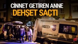 Ankara'da psikolojik sorunları olduğu öne sürülen kadın, iki çocuğunu öldürdükten sonra polis ekiplerine teslim oldu.