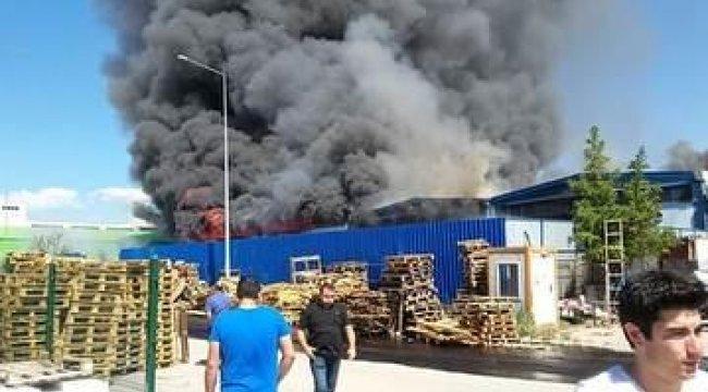Ankara'dan son dakika haberi... Fabrikada yangın çıktı