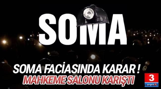 Manisa'nın Soma ilçesinde 4 yıl önce 301 madencinin hayatını kaybettiği faciayla ilgili davada karar verildi.