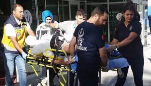 Gurbetçilerin otomobili takla attı: 2 ölü, 5 yaralı