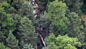Japonya'da 9 Kişiyi Taşıyan Arama Kurtarma Helikopter Dağa Çakıldı!