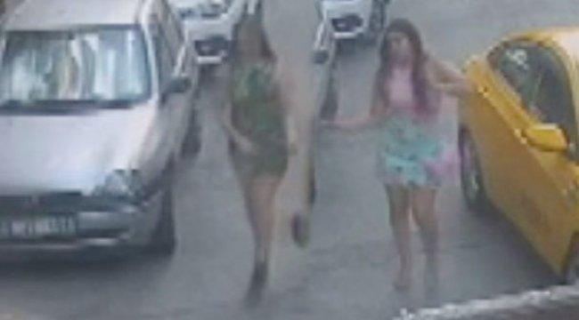 Son dakika: Taksiden inen iki genç kadına kâbusu yaşattılar!