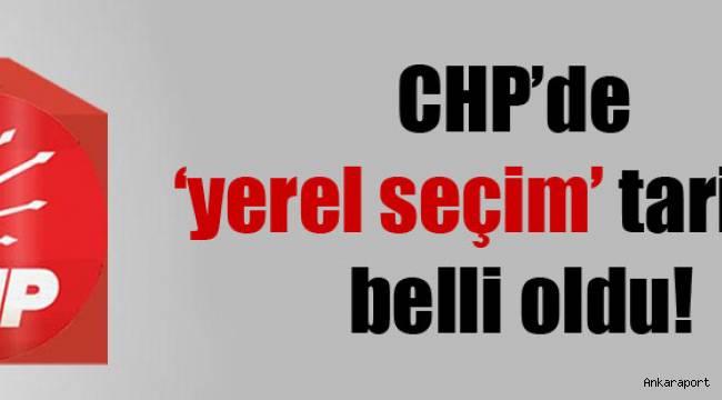 CHP'de yerel seçim tarifesi belli oldu