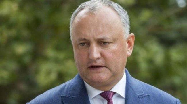 Moldova Cumhurbaşkanı trafik kazası geçirdi