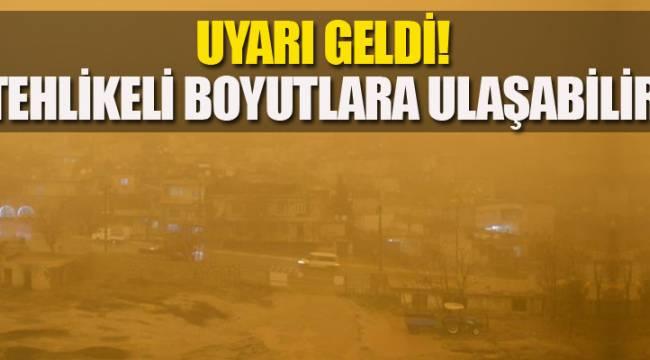 Ankara İçin Korkutan Uyarı geldi! Tehlikeli boyutlara ulaşabilir