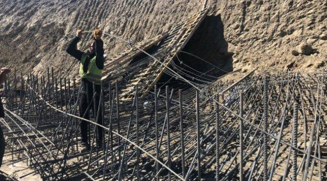 Başkent'te İnşaatta İstinat Perdesi Çöktü: 2 Yaralı