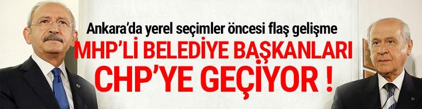 CHP, Manisa ve Mersin'in MHP'li mevcut belediye başkanlarını transfer etmeye hazırlanıyor.