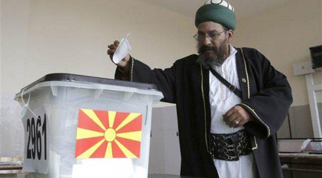 Makedonya'daki referandumda oy kullanma işlemi tamamlandı