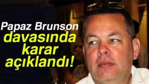 Rahip Brunson'a tahliye