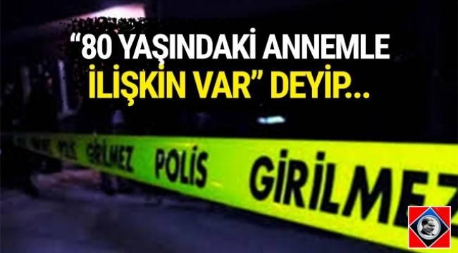 Ankara'da alkollü bir kadın, komşusunu annesiyle ilişkisi olduğunu iddia ederek rehin aldı.