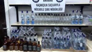 Ankara'da Sahte ve Kaçak İçki Operasyonu: 22 Gözaltı