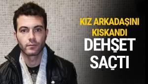 Ankara'da kız arkadaşını, mesai arkadaşlarının gözleri önünde 44 yerinden bıçaklayarak öldüren şüpheli gözaltına alındı.