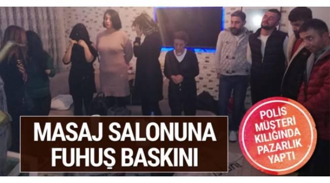 Ankara'da polisin müşteri gibi davranarak düzenlediği fuhuş operasyonunda 5'i kadın 13 kişi gözaltına alındı.