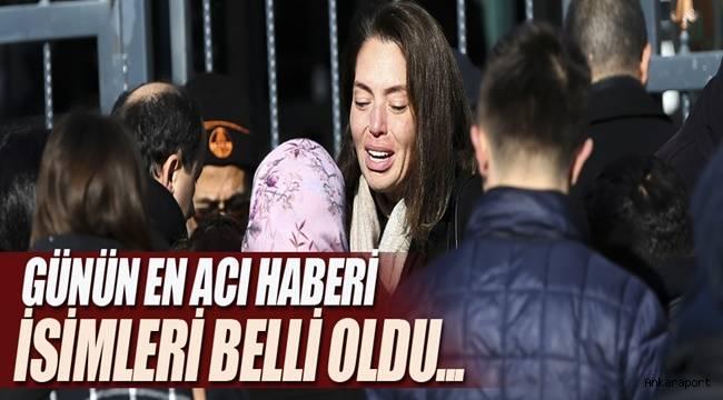 Ankara'daki tren kazasında hayatını kaybeden 9 vatandaşın ismi belli oldu.
