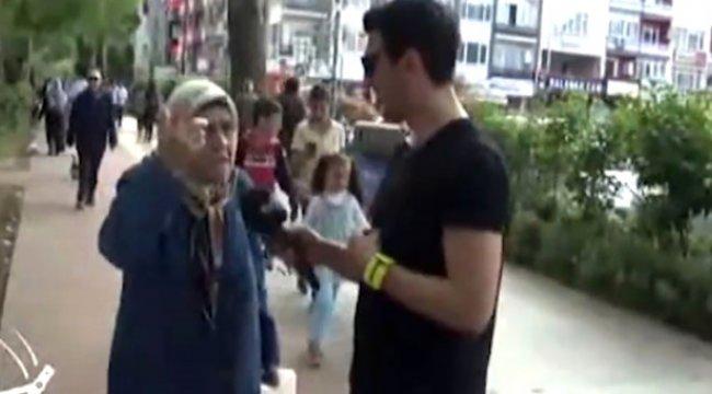5 Dil Bilen Teyzenin Yeteneği, Kendisine Mikrofon Uzatan Muhabiri Şaşırttı