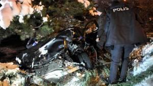 Ankara'da 2 Kaza: 4 Yaralı