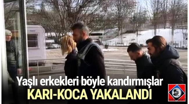 Ankara'da iki ayrı operasyonda dolandırııcılık yaptığı belirlenen karı-koca ile Suriye uyruklu 3 kişi yakalandı.