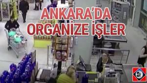Ankara polisi, süpermarket ve bebek mağazalarından ailece hırsızlık yapan ve olaylarda özellikle çocukları kullanan zanlılara operasyon düzenledi