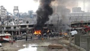 Suriye'de Rejim Kontrolünde Olan Lazkiye'de Patlama Meydana Geldi! Çok Sayıda Yaralı Var