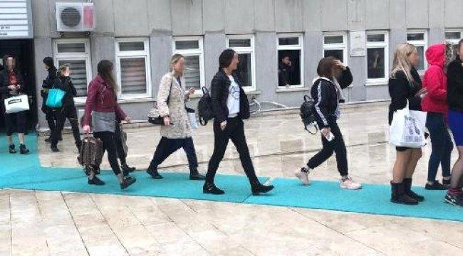 Dansçı Olarak Getirilip, Konsomatrislik Yaptırılan Yabancı Uyruklu 66 Kadın Kurtarıldı
