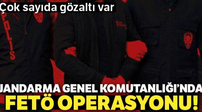 Jandarma Genel Komutanlığı'nda FETÖ operasyonu: 52 gözaltı kararı