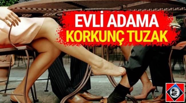 Ankara'da evli adama ellerindeki görüntülerle şantaj yapmak isteyen kişiler gözaltına alındı.