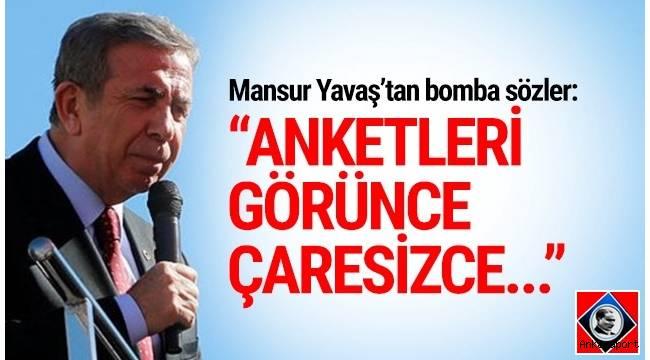 CHP ve İYİ Parti'nin Ankara Büyükşehir Belediye Başkan adayı Mansur Yavaş, kendisi hakkında ortaya atılan iddialara böyle yanıt verdi.