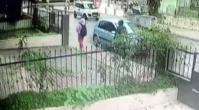 Kapkaççılar güvenlik kamerasından yakalandı