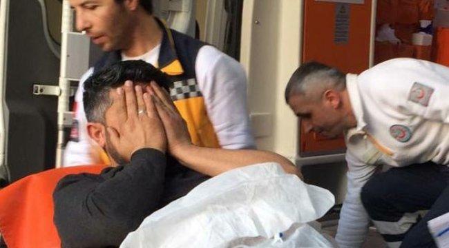 Sevgilisine tacizle suçladığı arkadaşını bacağından vurdu
