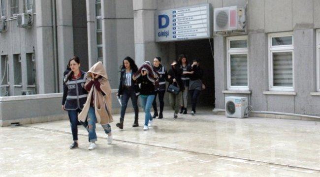 Ankara'da Fuhuş Operasyonu Zanlıları Adliyede