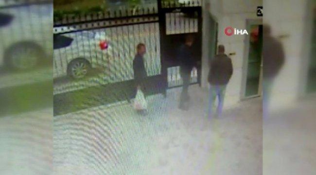 Ankara'da Köpekleri Katleden Şüpheliler Güvenlik Kamerasında