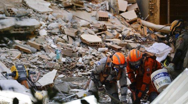 Brezilya'daki çöken binada ölenlerin sayısı 15'e yükseldi