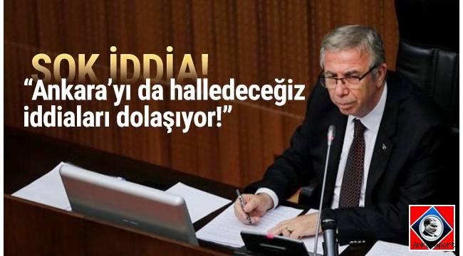 """Ankara Büyükşehir Belediye Başkanı Mansur Yavaş, """"İstanbul'u halledelim sonra Ankara'yı da halledeceğiz sözleri dolaşıyor."""