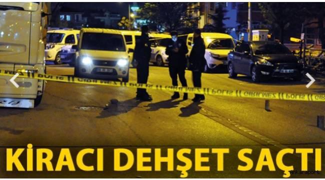 Ankara'da,bir kiracı ev sahibinin oğlu Birol Parlak vurarak yaraladı.