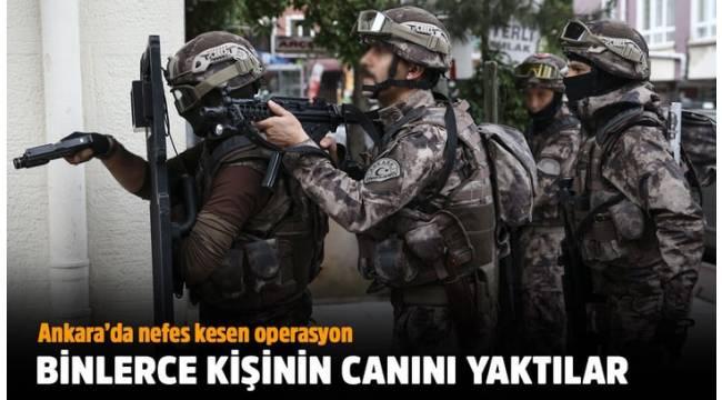 Vize almak isteyenleri dolandıran suç örgütüne yönelik Ankara merkezli 8 ilde eş zamanlı operasyon düzenlendi.