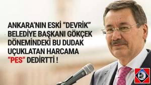 Başkent Ankara'da Melih Gökçek döneminin dudak uçuklatan harcaması ''pes'' dedirtti