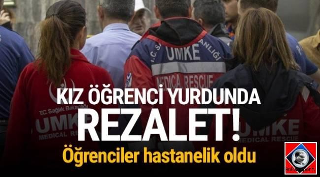 Ankara'da biber gazı paniği! 9 öğrenci hastanelik oldu