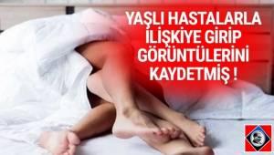 Ankara'da sahte hemşire kimliği kullanarak yaşlı hastalarla ilişkiye girip görüntülerini kaydeden kadın şantajla hastalara birçok şey aldırdı.