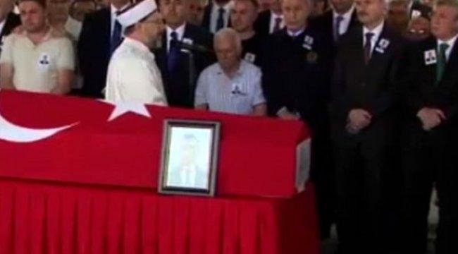 Erbil'de şehit edilen diplomat, Ankara'da toprağa verildi