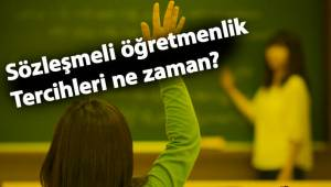 Sözleşmeli öğretmenlik tercihleri: MEB tercih sayısı için müjdeyi verdi!