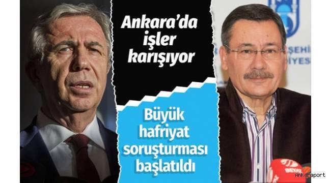 Ankara Büyükşehir Belediyesi'nden büyük hafriyat soruşturması!