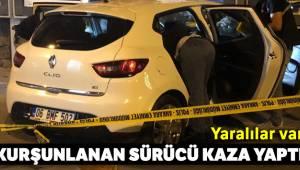 Ankara'da kurşunlanan sürücü kaza yaptı: 1'i ağır 2 yaralı