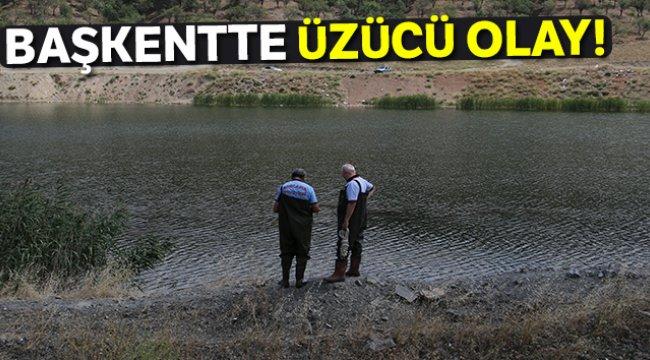 Başkentte gölete atlayan şahıs hayatını kaybetti