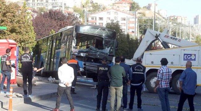 Son dakika: Ankara'da 4 kişinin ölümüne neden olan özel halk otobüsünün şoförü tutuklandı