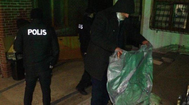 Ankara'da evsizler otellere yerleştirildi