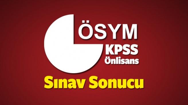 KPSS Önlisans memurluk sınav sonucu son dakika açıklama